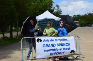 Brunch reporté