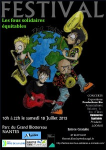 Flyer Festival fous solidaires
