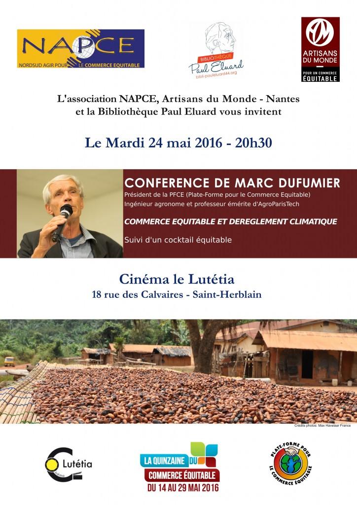 Conférence Marc Dufumier