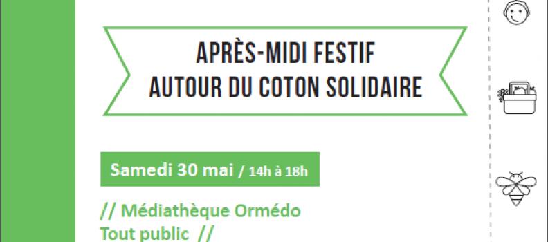 On revisite le coton à Orvault (30 mai)