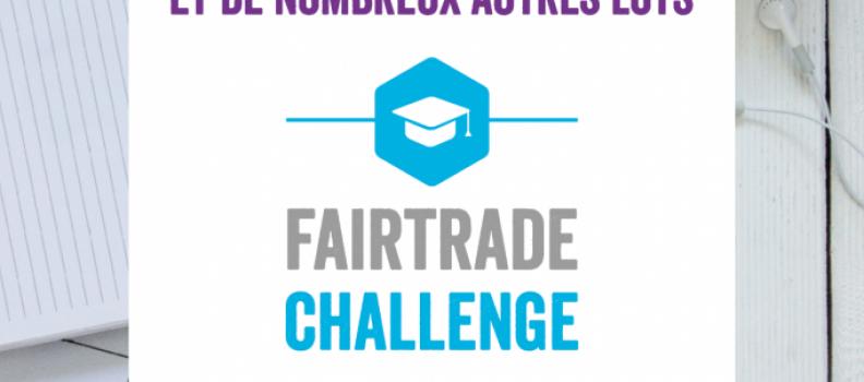 Fairtrade Challenge étudiant avant le 24 octobre 2016