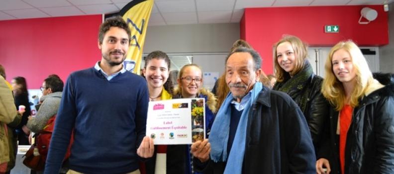Le lycée Albert Camus s'engage en faveur du commerce équitable