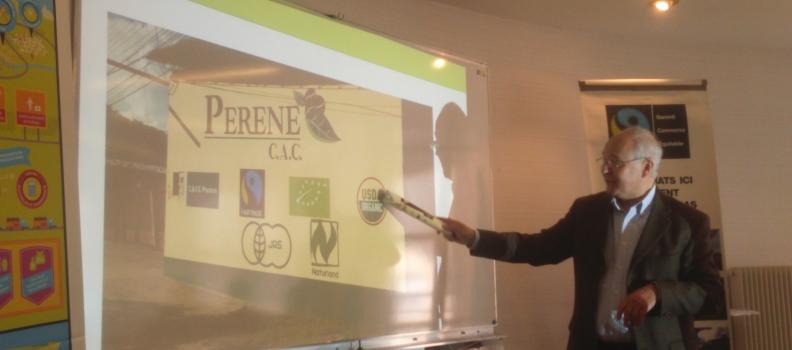Label établissement équitable présenté à Bretagne Cens