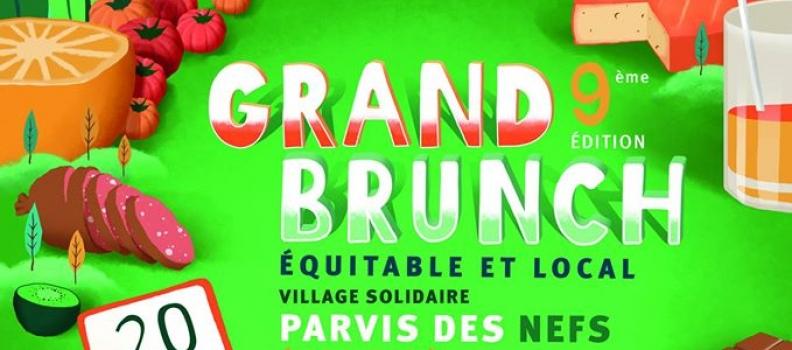 9 ème Brunch Equitable & Local à Nantes le samedi 20 mai
