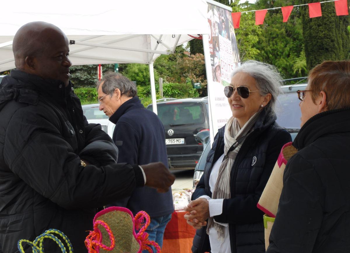 photo marché QCE bouaye 2