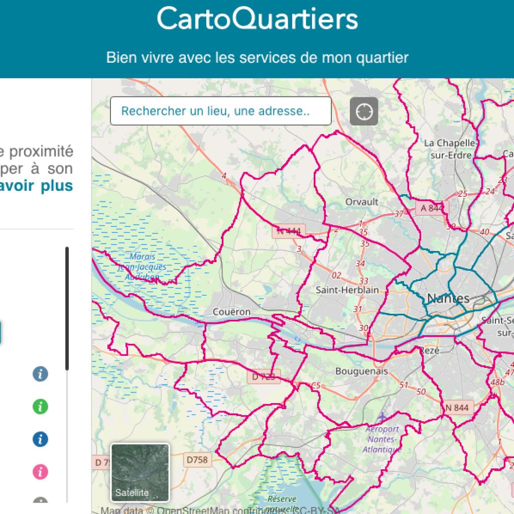 Site web CartoQuartier